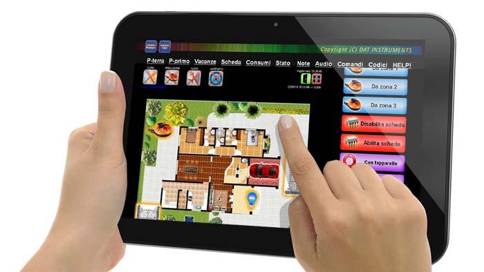 Control Casa, domotica controllo bambini, tablet, CTRL-TV