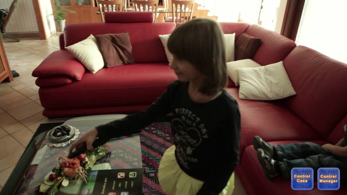 Control Casa, domotica controllo bambini, CTRL-TV