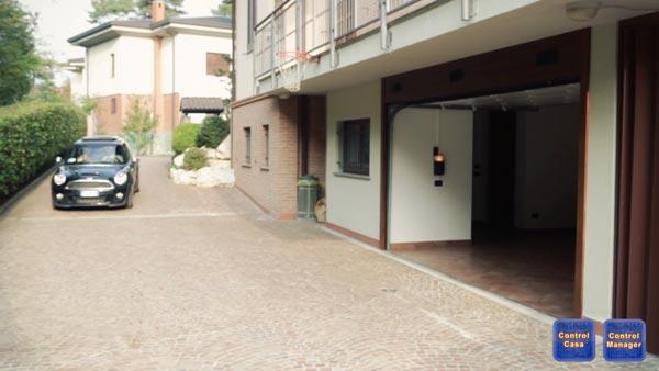 Control Casa, Control Manager, EVO-Welchome, garage domotico, apertura