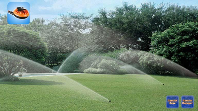 Control Casa, EVO-Garden, irrigazione domotica