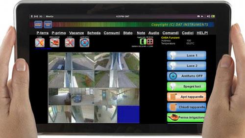 Control Casa, Control Manager, CTRL-Security, antifurto domotico, visualizzazione remota, videosorveglianza