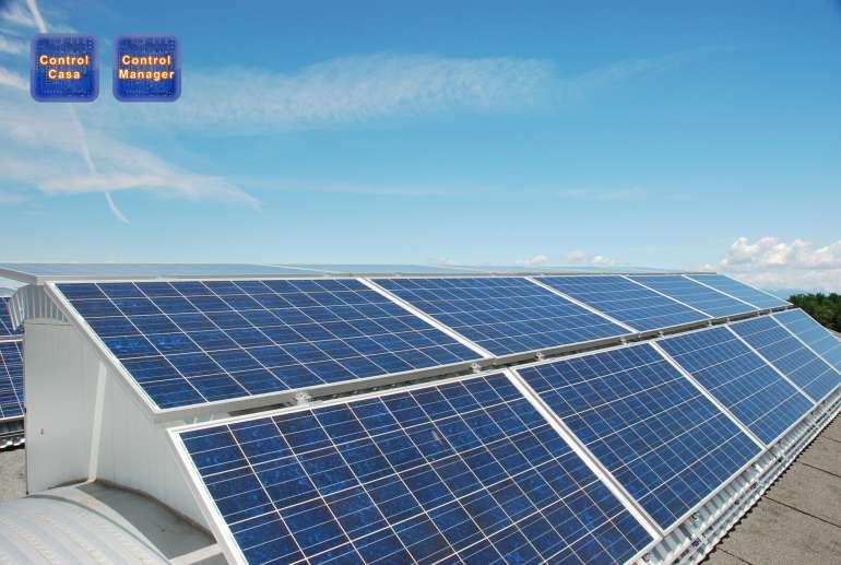 Control Manager & Control Casa, sistemi domotici, fotovoltaici