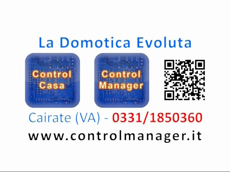 Control Manager, Control Casa, impianti elettrici domotici