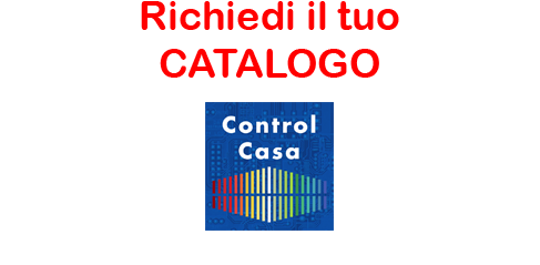 Control Casa, La Domotica Evoluta, catalogo, prodotti, impianto domotico