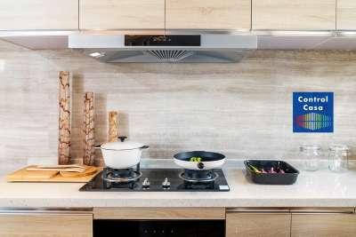 Control Casa, domotica, impianto domotico, cucina domotica, smart home, home automation.