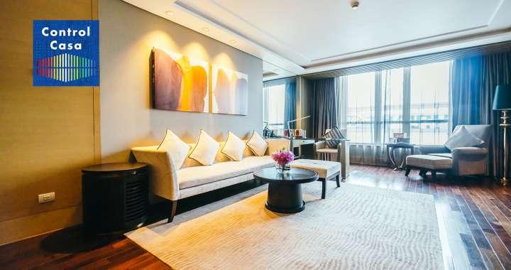 Control Casa, domotica, impianto domotico, salotto, illuminazione, gestione illuminazione. home automation, smart home