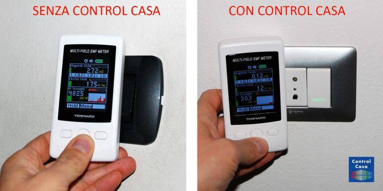 Control Casa, elettrosmog impianto elettrico interruttori, domotica, impianto domotico