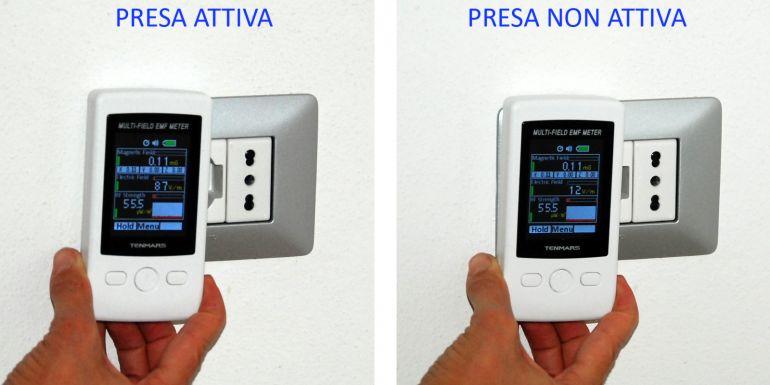 Control Casa, elettrosmog presa elettrica. onde elettromagnetiche, domotica, impianto domotico, impianto domotico Varese