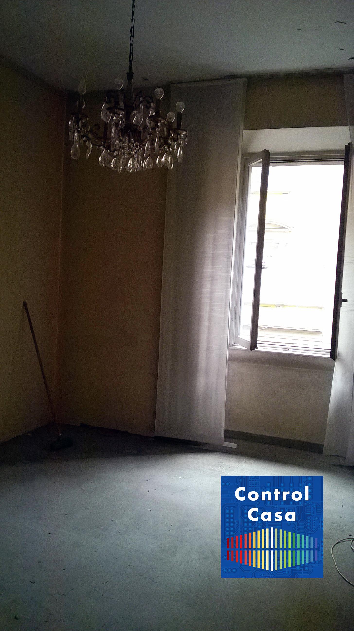 Sala, control casa, domotica, impianto domotico, milano City life, elettrosmog, onde elettromagnetiche