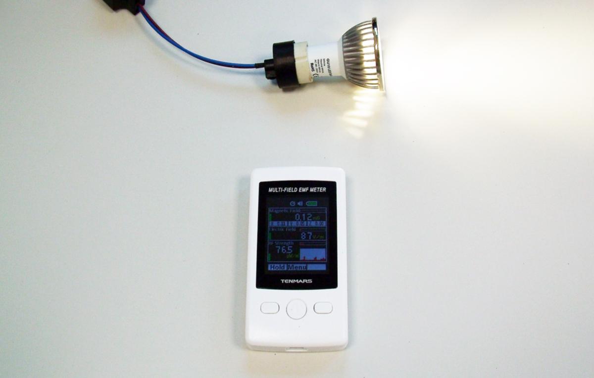elettrosmog prodotto dalle lampadine a LED, domotica, impianto domotico, control casa